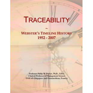 Traceability - Websters Timeline History